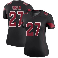 Josh Shaw Arizona Cardinals Women's Color Rush Legend Nike Jersey - Black