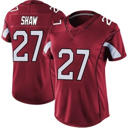 Josh Shaw Arizona Cardinals Women's Limited Vapor Team Color Untouchable Nike Jersey - Red