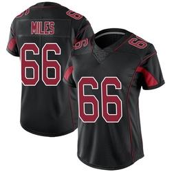 Joshua Miles Arizona Cardinals Women's Limited Color Rush Nike Jersey - Black
