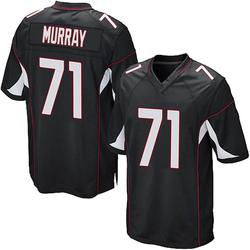 Justin Murray Arizona Cardinals Men's Game Alternate Nike Jersey - Black
