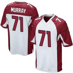 Justin Murray Arizona Cardinals Men's Game Nike Jersey - White