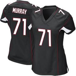 Justin Murray Arizona Cardinals Women's Game Alternate Nike Jersey - Black