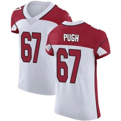 Justin Pugh Arizona Cardinals Men's Elite Vapor Untouchable Nike Jersey - White