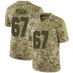 Justin Pugh Arizona Cardinals Men's Limited 2018 Salute to Service Nike Jersey - Camo
