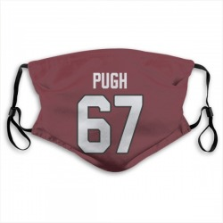 Justin Pugh Arizona Cardinals Reusable & Washable Face Mask