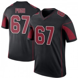 Justin Pugh Arizona Cardinals Youth Color Rush Legend Nike Jersey - Black