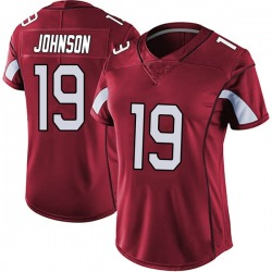 KeeSean Johnson Arizona Cardinals Women's Limited Vapor Team Color Untouchable Nike Jersey - Red