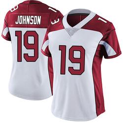 KeeSean Johnson Arizona Cardinals Women's Limited Vapor Untouchable Nike Jersey - White