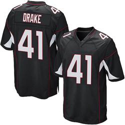 Kenyan Drake Arizona Cardinals Men's Game Alternate Nike Jersey - Black