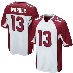 Kurt Warner Arizona Cardinals Men's Game Nike Jersey - White