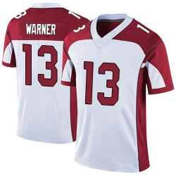 Kurt Warner Arizona Cardinals Men's Limited Vapor Untouchable Nike Jersey - White