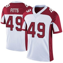 Kylie Fitts Arizona Cardinals Men's Limited Vapor Untouchable Nike Jersey - White