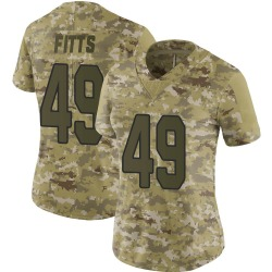 Kylie Fitts Arizona Cardinals Women's Limited 2018 Salute to Service Nike Jersey - Camo
