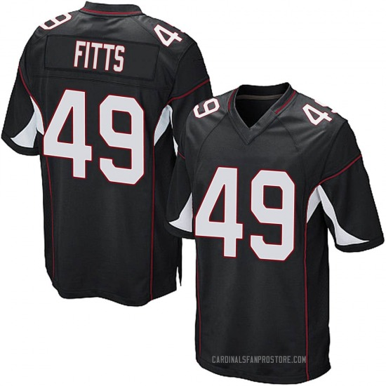 Kylie Fitts Arizona Cardinals Youth Game Alternate Nike Jersey - Black