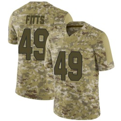 Kylie Fitts Arizona Cardinals Youth Limited 2018 Salute to Service Jersey - Camo