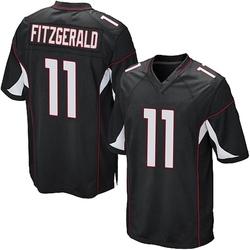 Larry Fitzgerald Arizona Cardinals Men's Game Alternate Nike Jersey - Black