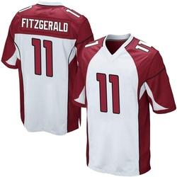 Larry Fitzgerald Arizona Cardinals Men's Game Nike Jersey - White