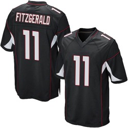 Larry Fitzgerald Arizona Cardinals Youth Game Alternate Nike Jersey - Black