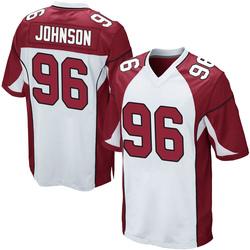 Lyndon Johnson Arizona Cardinals Youth Game Nike Jersey - White