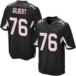Marcus Gilbert Arizona Cardinals Men's Game Alternate Nike Jersey - Black