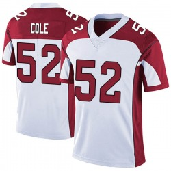 Mason Cole Arizona Cardinals Men's Limited Vapor Untouchable Nike Jersey - White