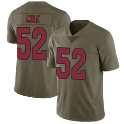 Mason Cole Arizona Cardinals Youth Limited Salute to Service Nike Jersey - Green
