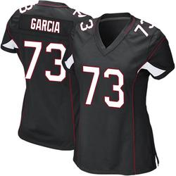 Max Garcia Arizona Cardinals Women's Game Alternate Nike Jersey - Black