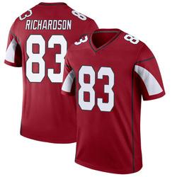 Men's A.J. Richardson Arizona Cardinals Men's Legend Cardinal Nike Jersey