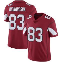 Men's A.J. Richardson Arizona Cardinals Men's Limited Cardinal 100th Vapor Nike Jersey