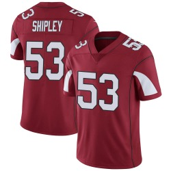 Men's A.Q. Shipley Arizona Cardinals Men's Limited Cardinal Team Color Vapor Untouchable Nike Jersey