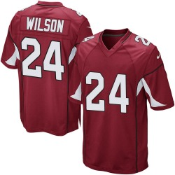 Men's Adrian Wilson Arizona Cardinals Men's Game Cardinal Team Color Nike Jersey