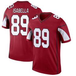 Men's Andy Isabella Arizona Cardinals Men's Legend Cardinal Nike Jersey