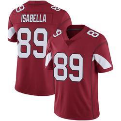 Men's Andy Isabella Arizona Cardinals Men's Limited Cardinal 100th Vapor Nike Jersey