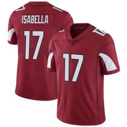 Men's Andy Isabella Arizona Cardinals Men's Limited Cardinal Team Color Vapor Untouchable Nike Jersey