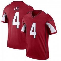 Men's Andy Lee Arizona Cardinals Men's Legend Cardinal Nike Jersey