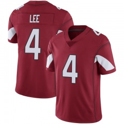 Men's Andy Lee Arizona Cardinals Men's Limited Cardinal 100th Vapor Nike Jersey