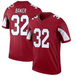 Men's Budda Baker Arizona Cardinals Men's Legend Cardinal Nike Jersey