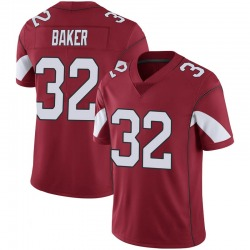 Men's Budda Baker Arizona Cardinals Men's Limited Cardinal 100th Vapor Jersey
