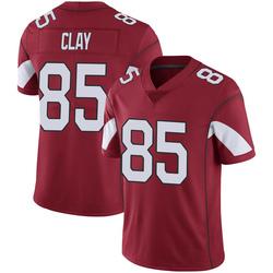 Men's Charles Clay Arizona Cardinals Men's Limited Cardinal 100th Vapor Nike Jersey