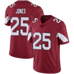 Men's Chris Jones Arizona Cardinals Men's Limited Cardinal 100th Vapor Nike Jersey