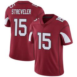 Men's Chris Streveler Arizona Cardinals Men's Limited Cardinal Team Color Vapor Untouchable Nike Jersey