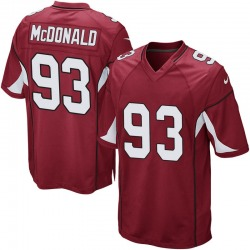 Men's Clinton McDonald Arizona Cardinals Men's Game Cardinal Team Color Nike Jersey