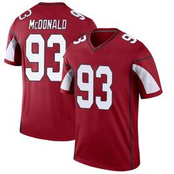 Men's Clinton McDonald Arizona Cardinals Men's Legend Cardinal Nike Jersey