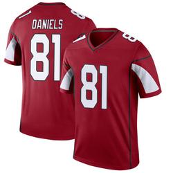 Men's Darrell Daniels Arizona Cardinals Men's Legend Cardinal Nike Jersey