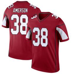 Men's David Amerson Arizona Cardinals Men's Legend Cardinal Nike Jersey