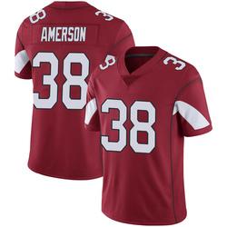 Men's David Amerson Arizona Cardinals Men's Limited Cardinal 100th Vapor Nike Jersey