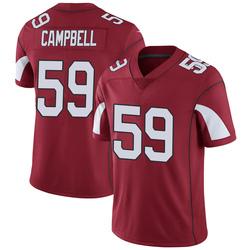 Men's De'Vondre Campbell Arizona Cardinals Men's Limited Cardinal Team Color Vapor Untouchable Nike Jersey