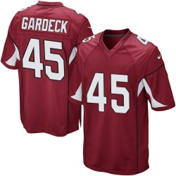 Men's Dennis Gardeck Arizona Cardinals Men's Game Cardinal Team Color Nike Jersey