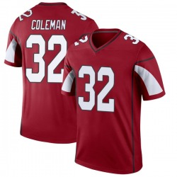 Men's Derrick Coleman Arizona Cardinals Men's Legend Cardinal Jersey