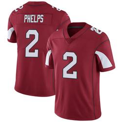 Men's Devin Phelps Arizona Cardinals Men's Limited Cardinal Team Color Vapor Untouchable Nike Jersey